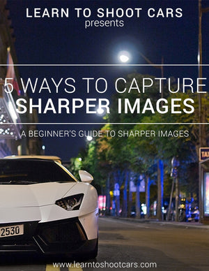 FREE E Book - 5 ways to sharper images