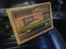 Load image into Gallery viewer, Monaro GTS handmade wood mounted car print