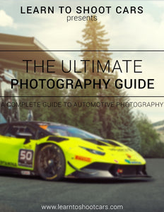 The Ultimate Automotive Photography Guide- E Book