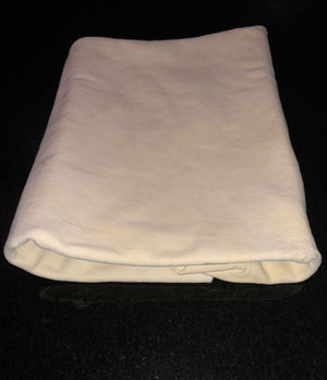 Natural oil-tanned Sheepskin Chamois Leather