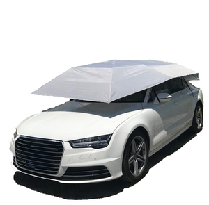 Semi Automatic Portable Car Cover, Sun, Rain and Weather Protection