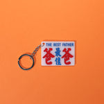 Minibus sign keychain- The best father