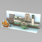 3D postcard - Old HK - Star Ferry