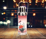 Table lamp - Old HK flask - Bird