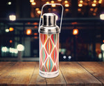 Table lamp - Old HK flask - Diamond pattern