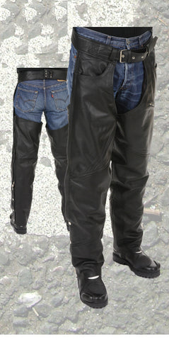 Motorcycle Cow Boy Leather Chaps Castro 300