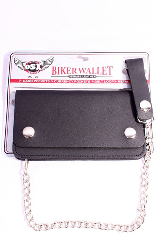 BIKER CHAIN WALLET - MEDIUM AC27
