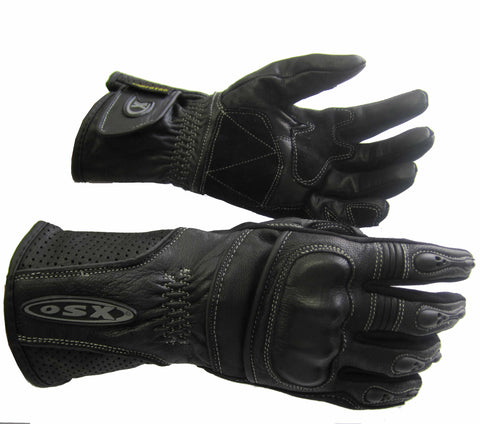 Summer Motorcycle Racing Leather Glove - Sunny 923