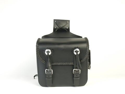 SISSY BAR TK LEATHER SADDLE BAG WEEKENDER AC14-TK