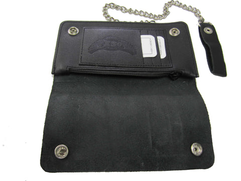 BIKER CHAIN WALLET - LARGE AC28
