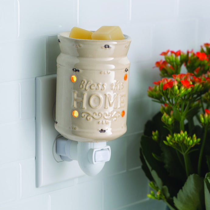 Bless This Home Pluggable Warmer - OUT OF STOCK - PREORDER ONLY - STOCK ARRIVING LATE AUGUST - MID SEPTEMBER