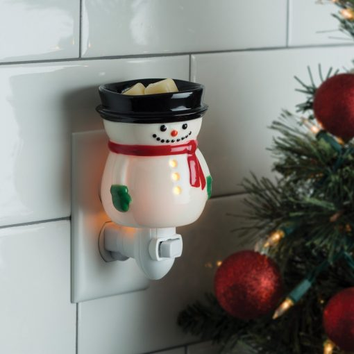 Frosty Snowman Pluggable Warmer freeshipping - Mumma's Melts