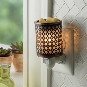 Moroccan Metal Pluggable Warmer - OUT OF STOCK - PREORDER ONLY - STOCK ARRIVING LATE AUGUST - MID SEPTEMBER