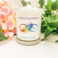 Autism Awareness Fundraising Candle