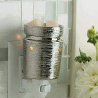Brushed Chrome Pluggable Warmer - SPECIAL ORDER freeshipping - Mumma's Melts