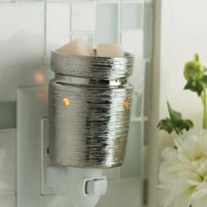 Brushed Chrome Pluggable Warmer - SPECIAL ORDER ONLY