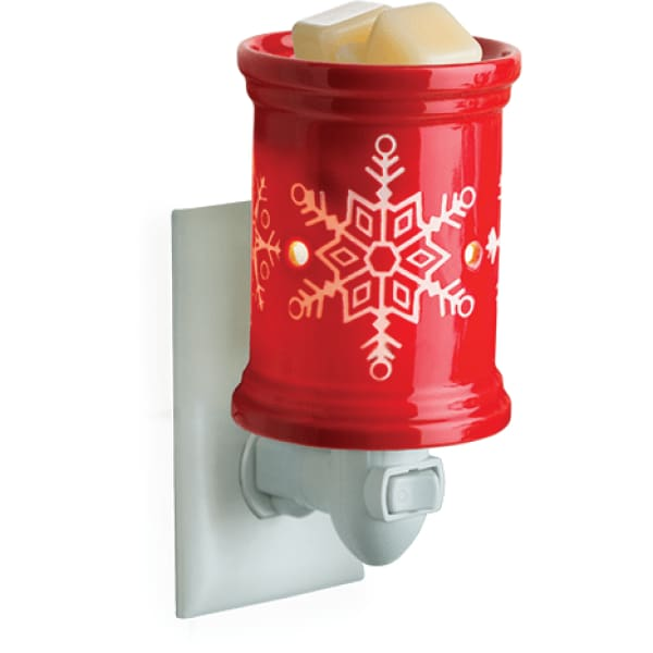 Red Snowflake Pluggable Warmer - Pluggable Warmer
