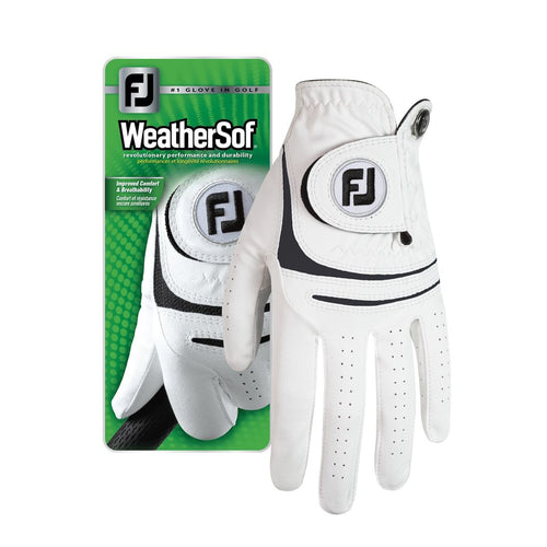 Footjoy WeatherSof Glove - SA GOLF ONLINE