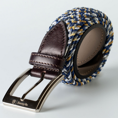 Jimmy Ro Fashion Webbed Belt - Multi - SA GOLF ONLINE