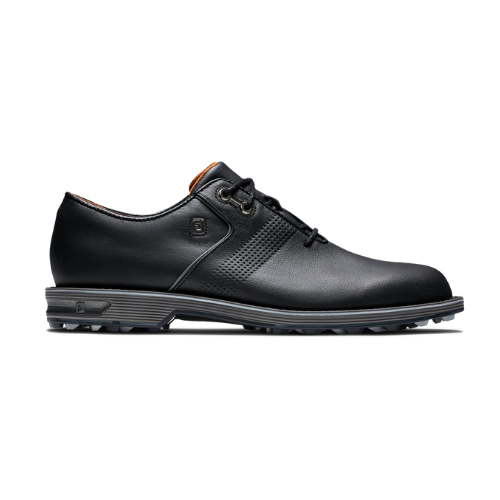FJ Premiere Flint Black Golf Shoes - SA GOLF ONLINE