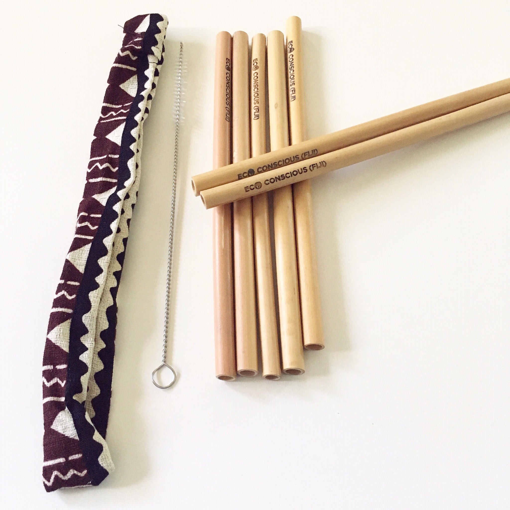 Ample Pack - Bamboo Straw Kit