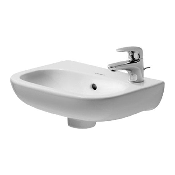 Durvait Sink - D-Code - Handrinse 360 mm - White