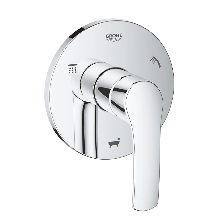 Grohe 'Eurosmart' 5-port Diverter trim in Chrome