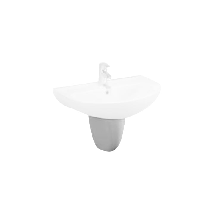 Sink accessory - ' Plan ' ; ' Space ' - Wall pedestal