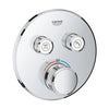 Grohe 'Grohtherm SmartControl' Safety Mixer for Concealed Installation with 2 Valves