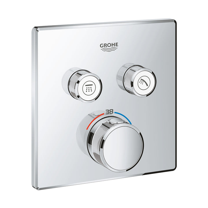 Grohe 'Grohtherm SmartControl' Thermostat for Concealed Installation with 2 valves