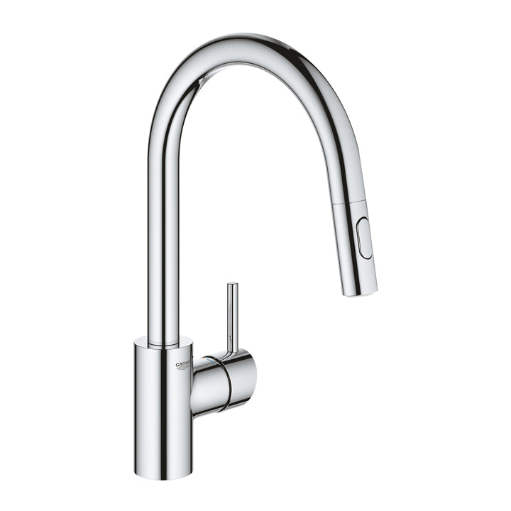 Grohe 'Concetto' Single Lever Kitchen Mixer 1/2″ Pull-Out Dual Spray in Chrome