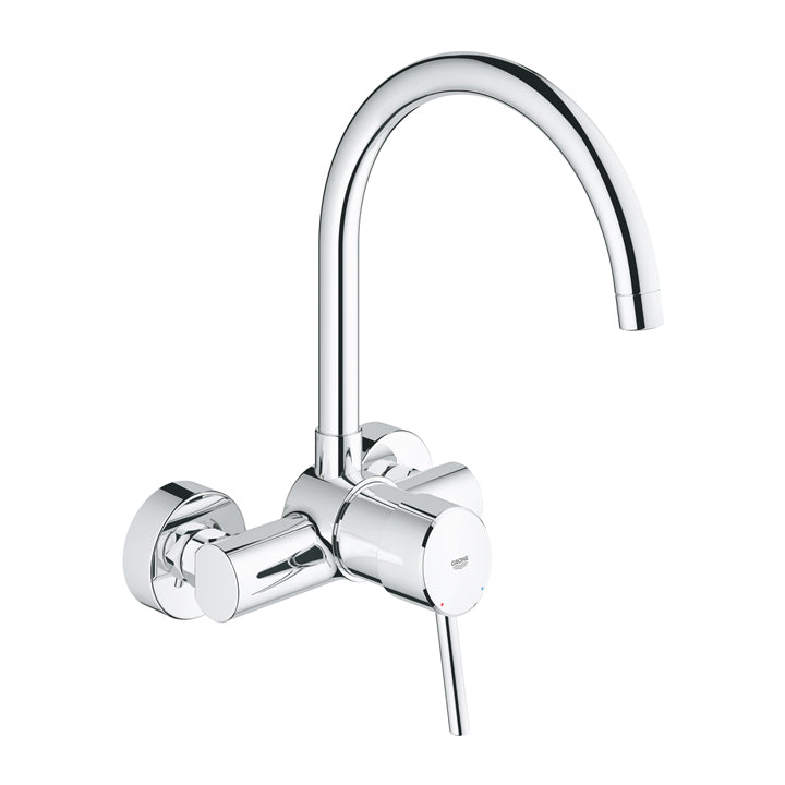 Grohe 'Concetto' Single-Lever Sink Mixer 1/2inch in Chrome