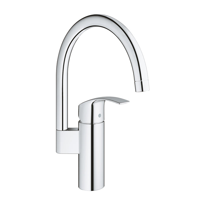Grohe 'Eurosmart' Single-lever Sink Mixer 1/2″ High spout in Chrome