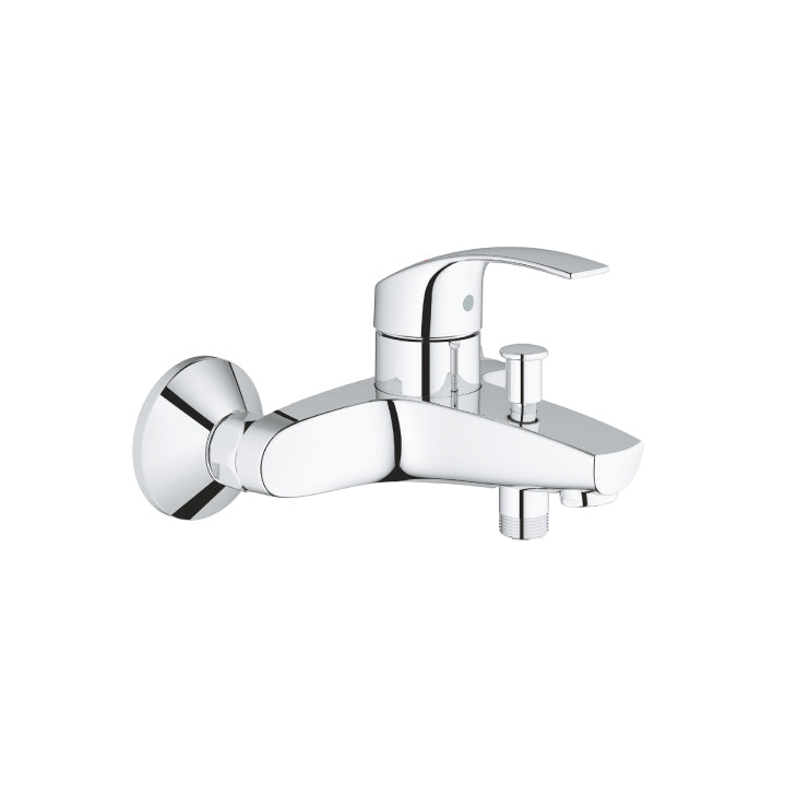 Grohe 'Eurosmart' Single-Lever Bath Mixer 1/2 in Chrome