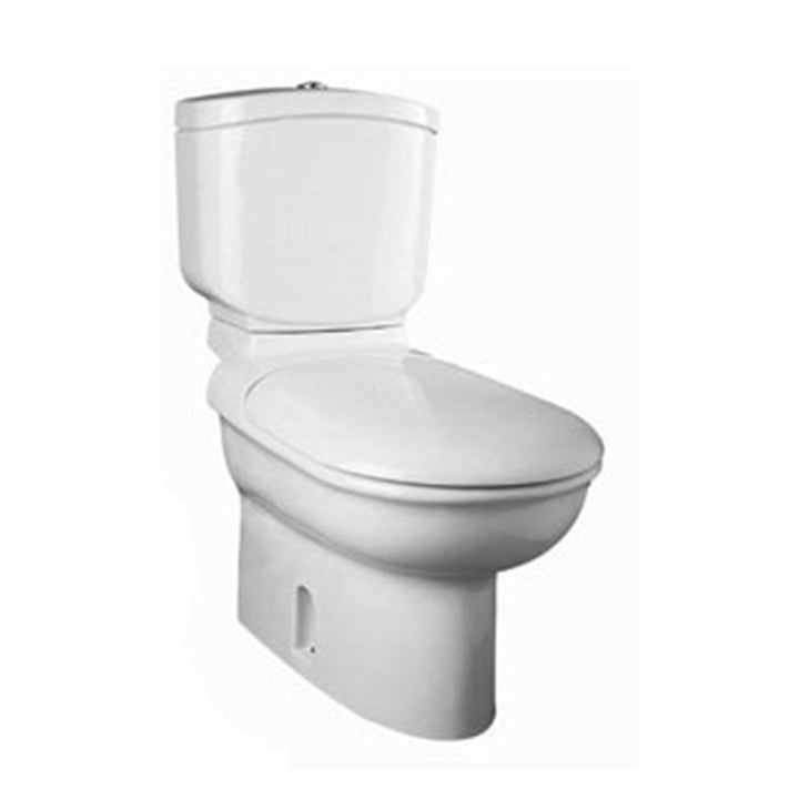 Toilet - Manta - Close-coupled bowl P/S trap