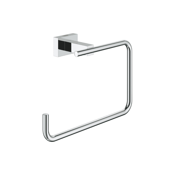 Grohe 'Essentials cube' Towel ring in Chrome