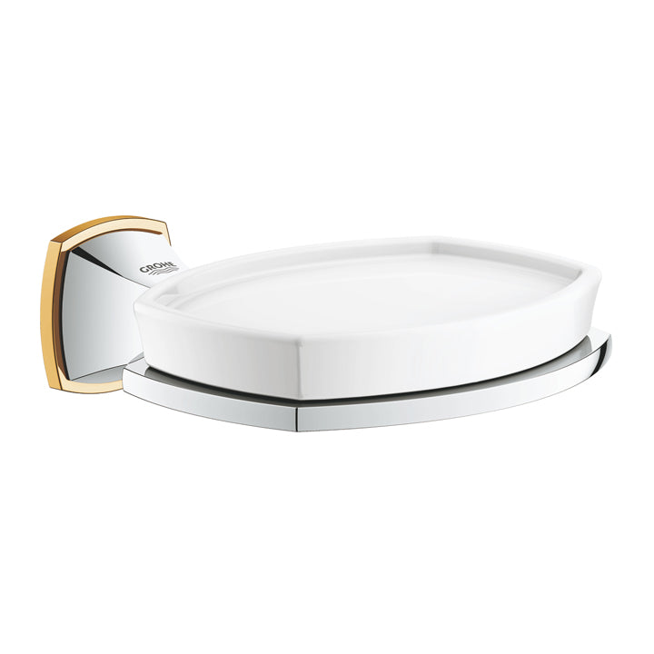 Grohe 'Grandera' Wall Mounted Holder With Ceramic Soap Dish