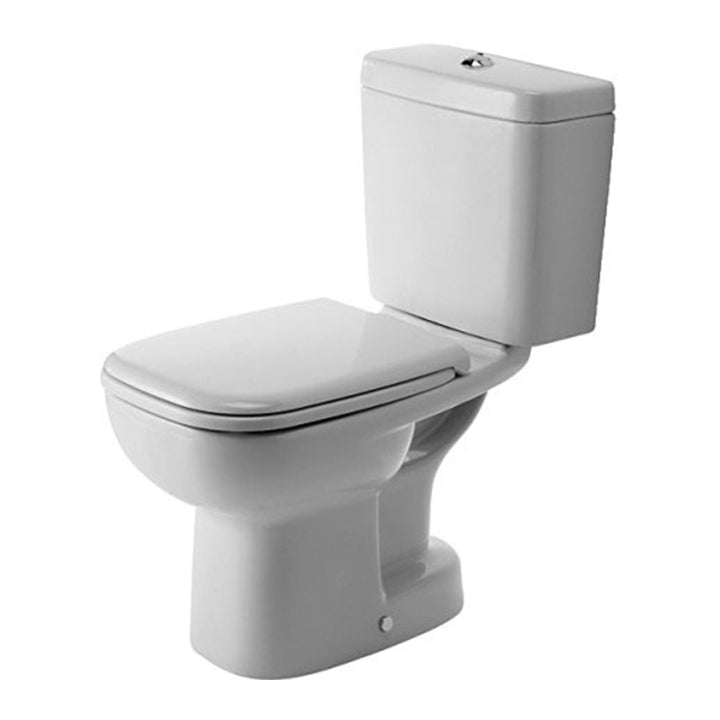 Toilet - D-Code - Close-coupled 355 x 650 mm - S Trap