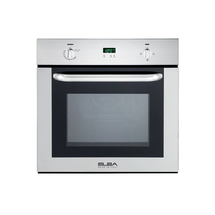 Elba 60 cm Built In Gas Oven With Grill in Stainless Steel