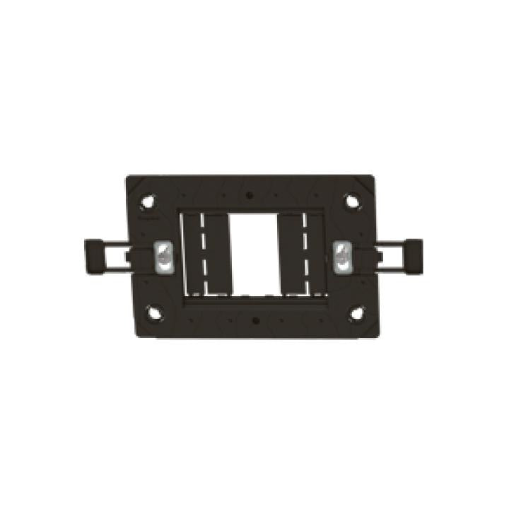 Arteor support frame - for italian/US type boxes - 2'' x 4'' - 1,2 or 3 modules