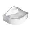 Ideal Standard - Shower tray - Round - With seat / With panel