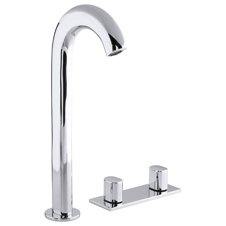 Sink mixer - Oblo - Tall widespread - Polished chrome