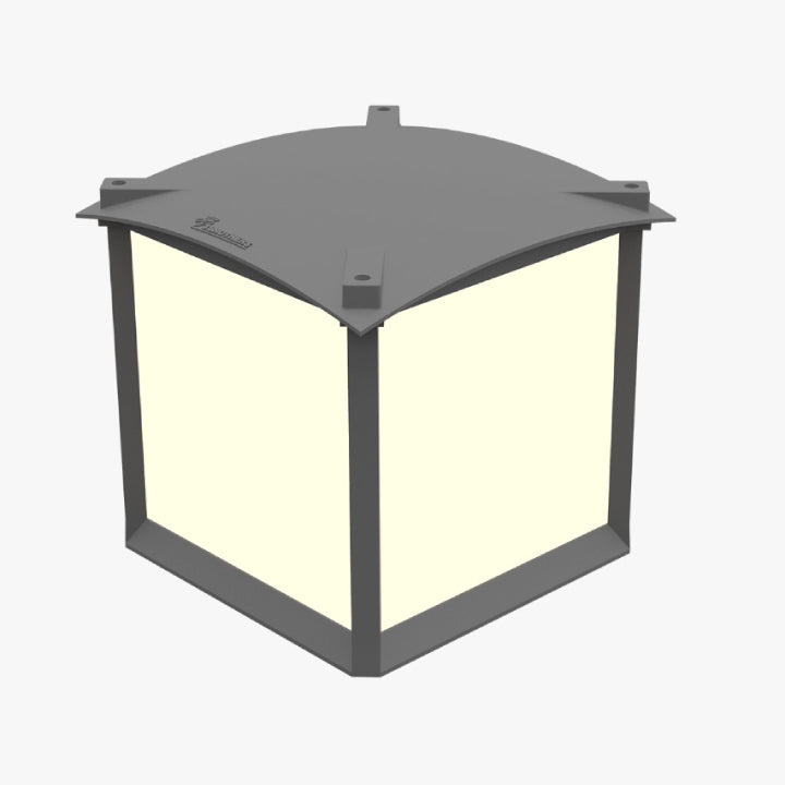 3 Brothers Fence Unit Outdoor Lighting 14W 3000K IP44