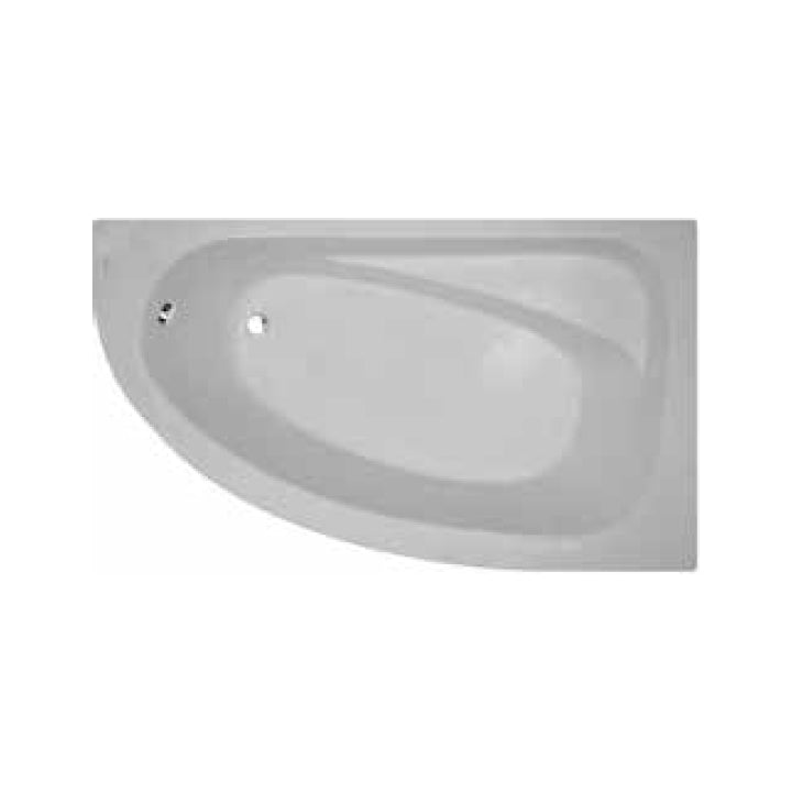 Duravit 'Marina' Left/Right Whirltub with 8 Water Jets in White