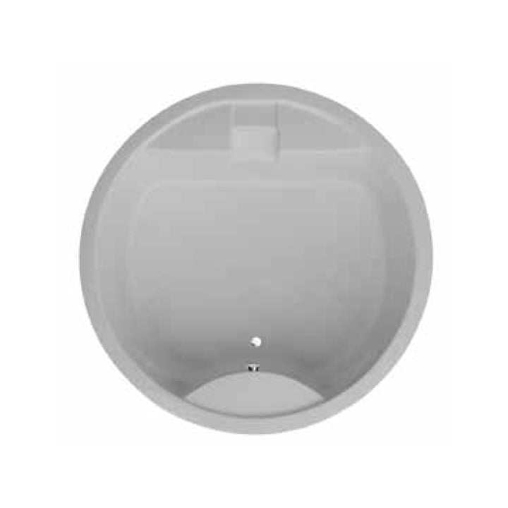 Duravit 'Full Moon' Bathtub with Flood Spout in White