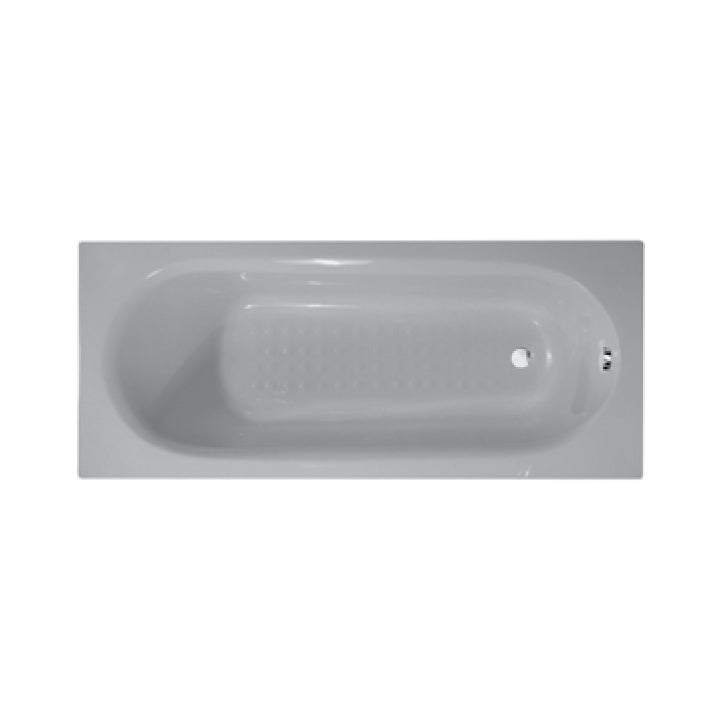 Duravit 'Rome' Whirltub with 8 Water Jets in White