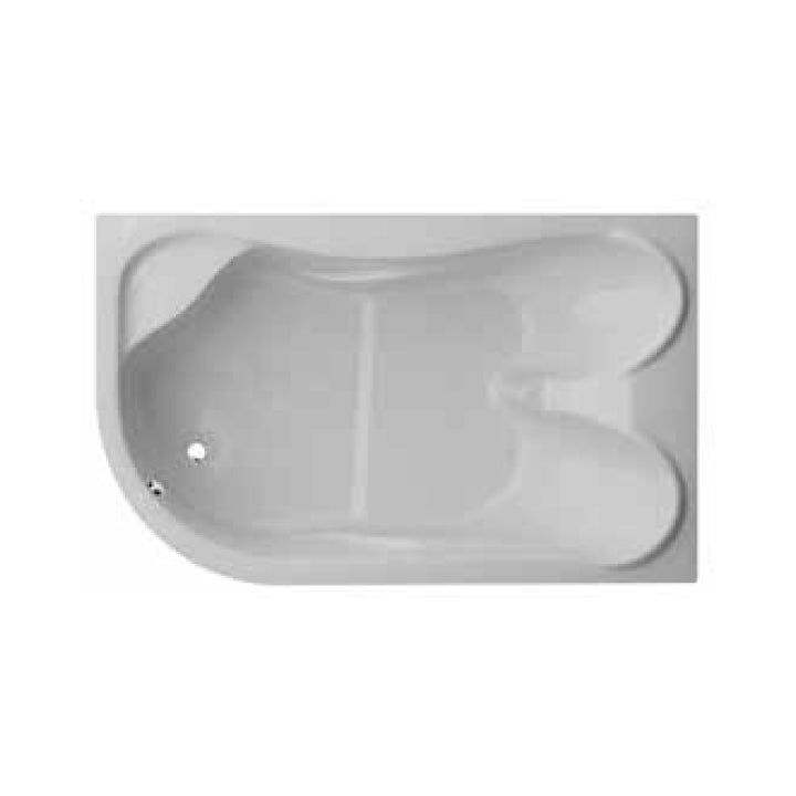 Duravit 'Duetto' Whirltub with 8 Water Jets in White