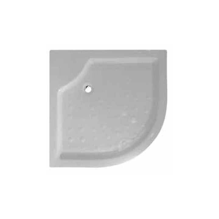Duravit Corner Shower Tray with Integrated Panel