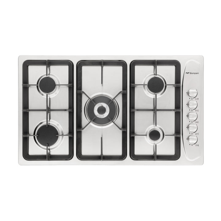 Bompani 90cm Built-in Italia Diva Gas hob in Stainless Steel