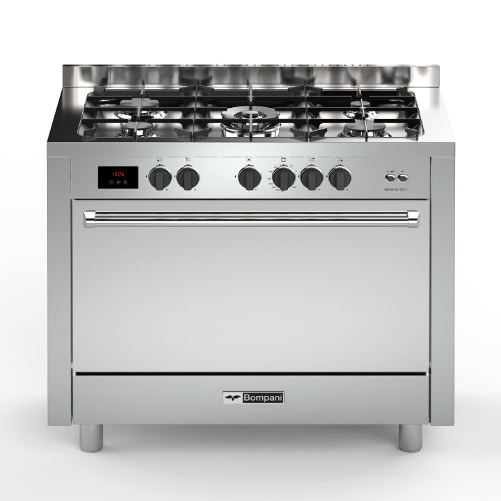 Bompani 100cm Tech Free Standing Cooker in Stainless Steel